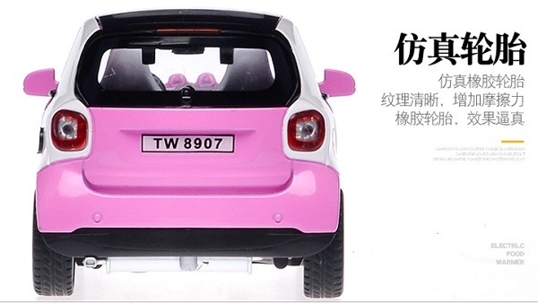 โมเดลรถเหล็ก โมเดลรถยนต์ Benz Smart 5