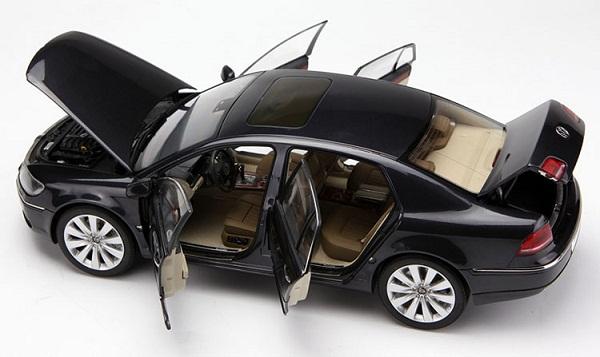 โมเดลรถ โมเดลรถเหล็ก โมเดลรถยนต์ VW phaeton black 5