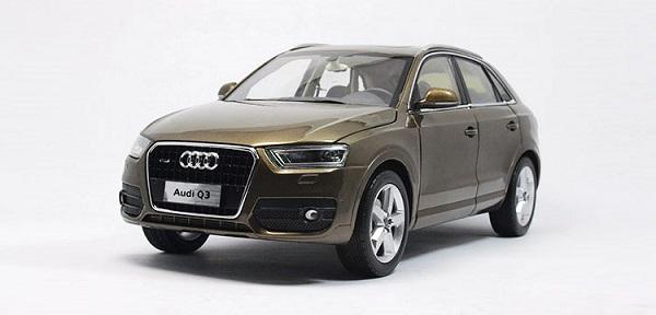 โมเดลรถ โมเดลรถเหล็ก โมเดลรถยนต์ Audi Q3 brown 1