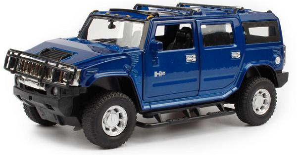 โมเดลรถเหล็ก โมเดลรถยนต์ Hummer h2 4