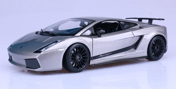 โมเดลรถ โมเดลรถเหล็ก โมเดลรถยนต์ Lamborghini gallardo superleggera 2