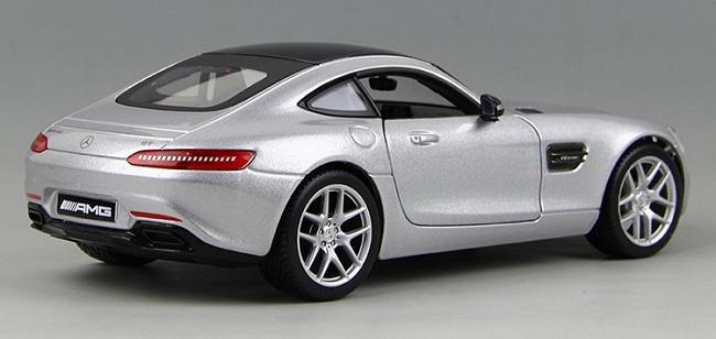 โมเดลรถ โมเดลรถยนต์ โมเดลรถเหล็ก amg gt silver 3