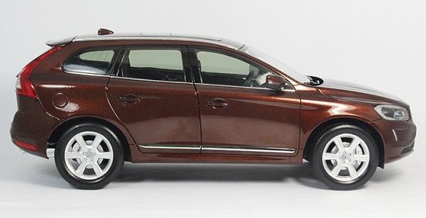 โมเดลรถ โมเดลรถเหล็ก โมเดลรถยนต์ Volvo XC60 brown 3