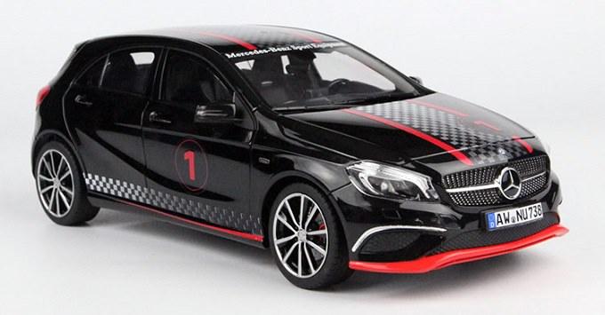 โมเดลรถ โมเดลรถเหล็ก โมเดลรถยนต์ Benz A Class Black 1