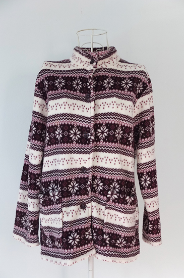 เสื้อกันหนาวสีม่วง ไซส์ M-L