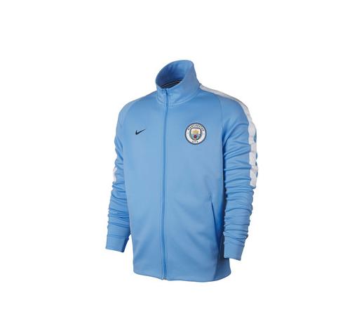 เสื้อแจ็คเก็ตแมนเชสเตอร์ ซิตี้ Franchise Jacket สีฟ้าของแท้