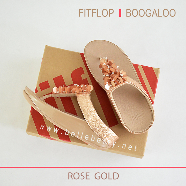 FitFlop : BOOGALOO : Rose Gold : Size US 6 / EU 37