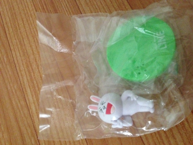 """""""พร้อมส่ง""""นำเข้าจากญี่ปุ่น 100% LINE Model LINE CHARACTER Figure Collection โมเดลตุ๊กตา line ตั้งโต๊ะ -Cony ชู2นิ้ว"""