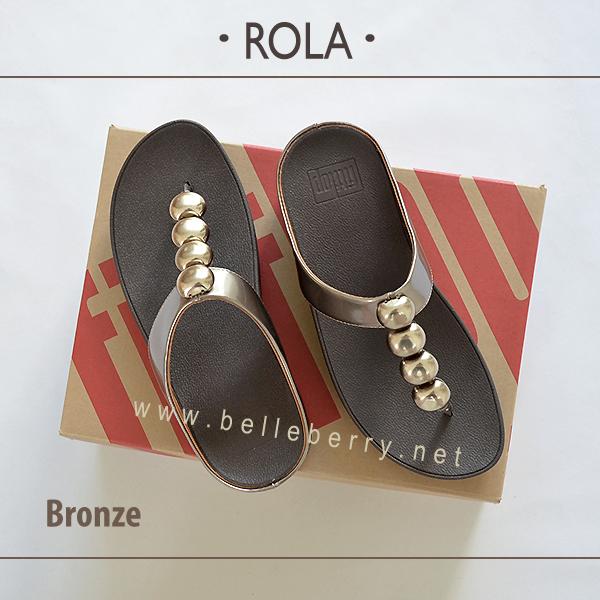 FitFlop : ROLA : Bronze : Size US 7 / EU 38