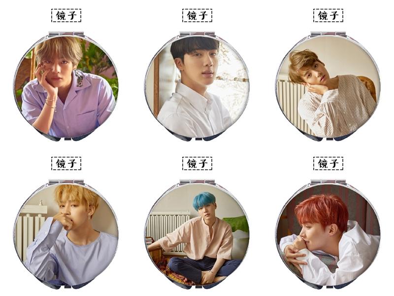 กระจกพกพา BTS Love Yourself (ระบุสมาชิก)