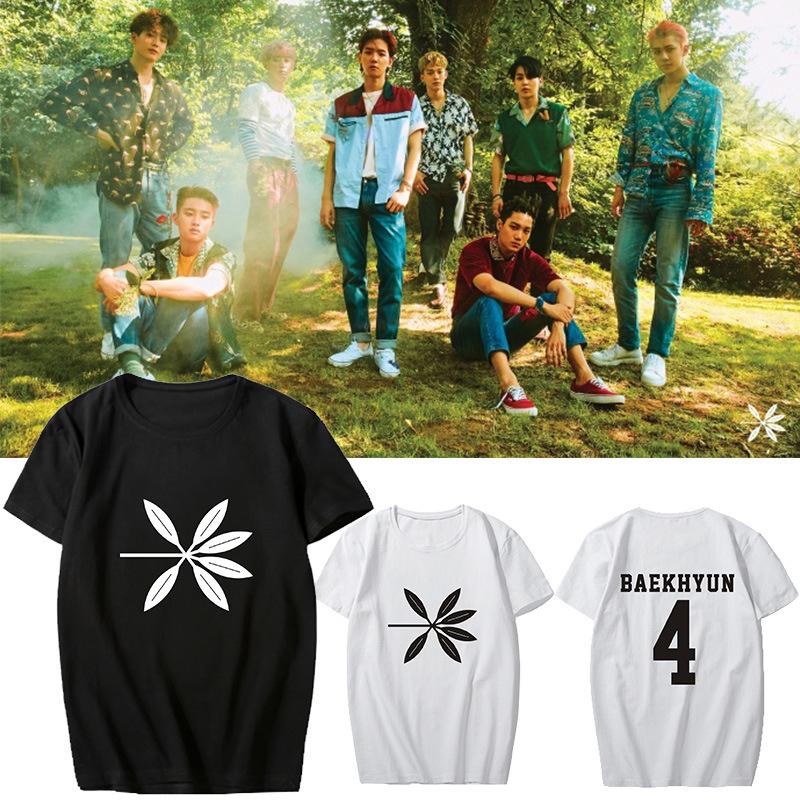 เสื้อยืด EXO KOKOBOP ระบุสี ไซส์ สมาชิก