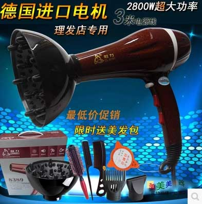 ไดร์เป่าขนสัตว์เลี้ยง 2800W Genuine barber shop dedicated pet salon hair dryer hair dryer 2800W power