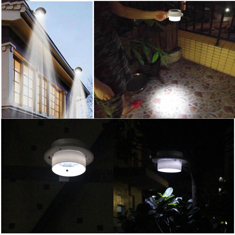 โคมไฟพลังงานแสงอาทิตย์ 1x3LED ประหยัดพลังงาน กันน้ำ ติดบนผนัง ตกแต่งสวน ติดไว้ในคอกสัตว์เลี้ยง ทางเดิน ไฟเปิดเองเมื่อไม่มีแสงแดด