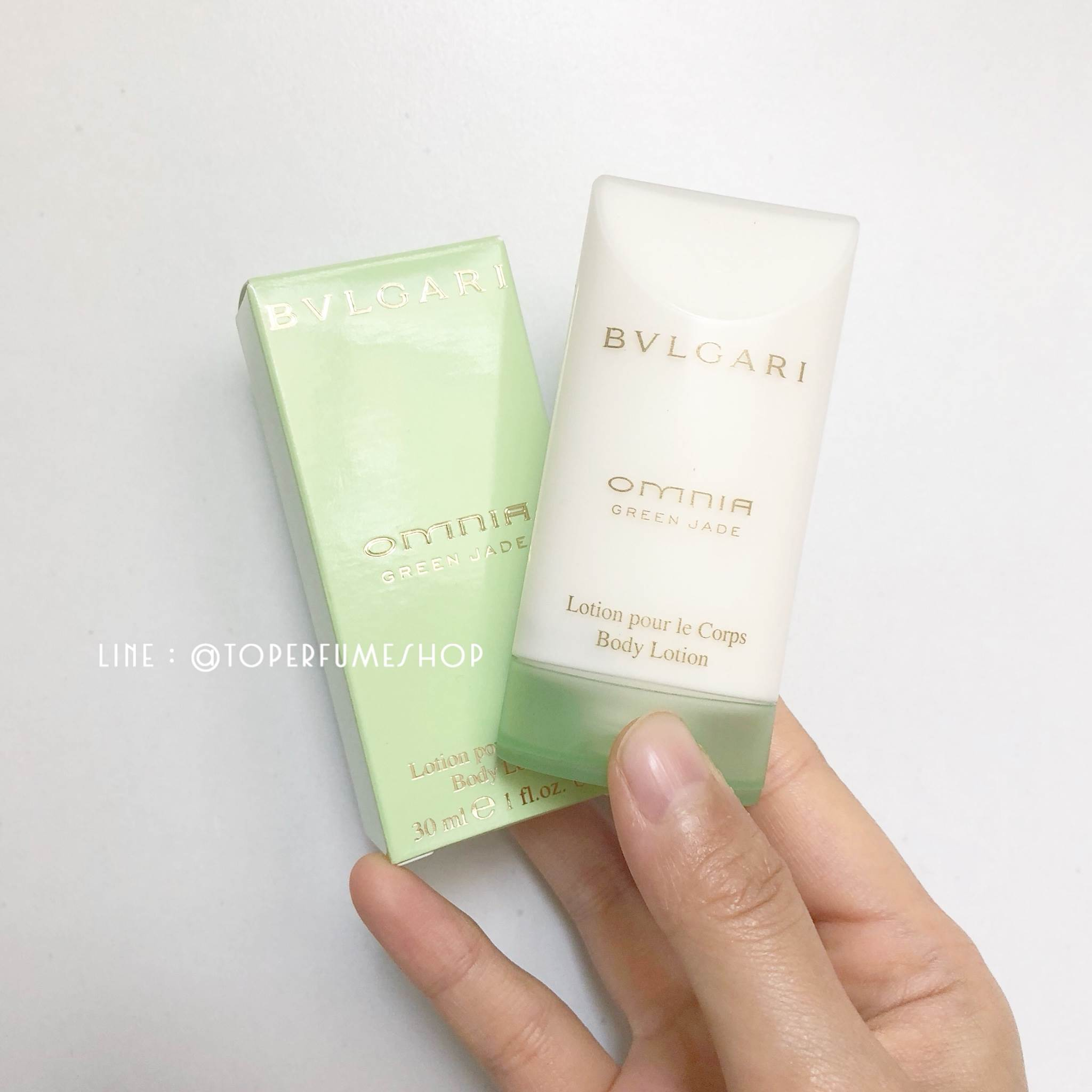 โลชั่นน้ำหอม Bvlgari omnia green jade parfum ขนาด 30ml.