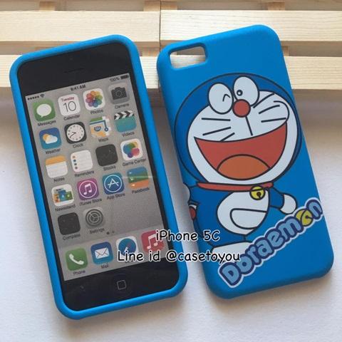 เคสประกบลาย Doraemon 01 รุ่นไอโฟน 5c