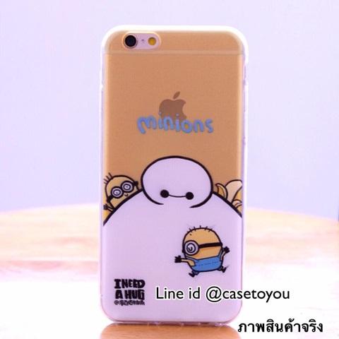 Ultra thin Baymax Minion iPhone 5/5S/SE