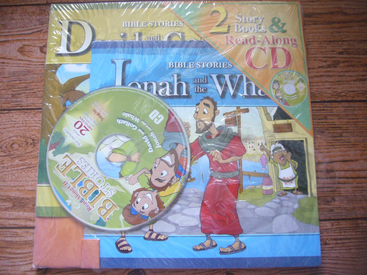 BIBLE Stories (2 Stories & Read-Along CD)