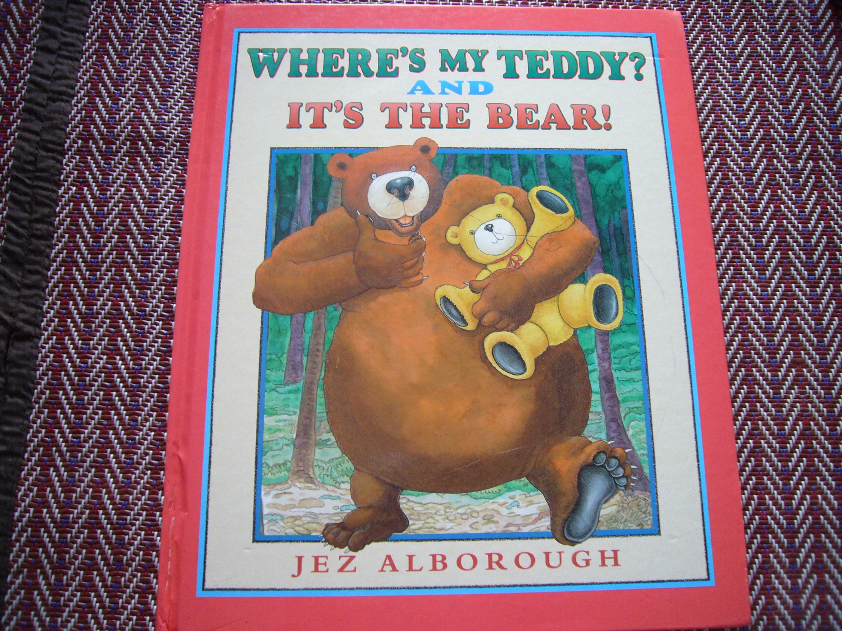 Where's My Teddy? // It's the Bear!