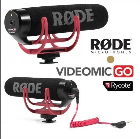 ไมค์ติดกล้อง RODE VIDEOMIC GO MICROPHONE