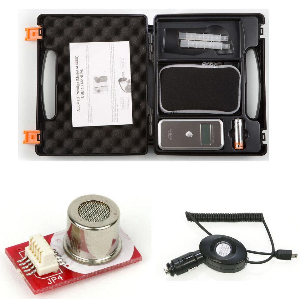 เครื่องวัดแอลกอฮอล์ (Alcohol Breath Testers) รุ่น AlcoMate Premium AL7000