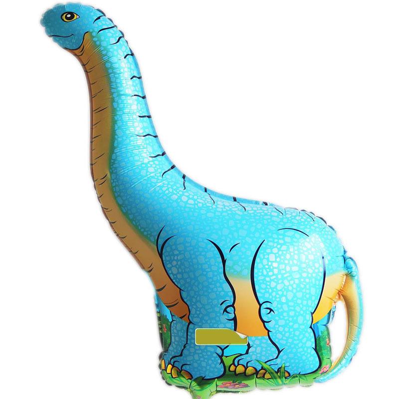 ลูกโป่งไดโนเสาร์ จัมโบ้ สีฟ้า