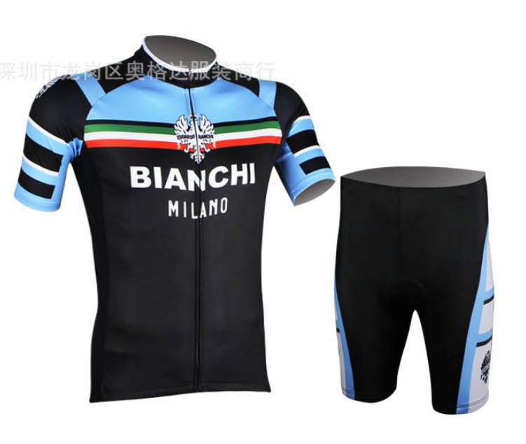ชุดปั่นจักรยาน Bianchi ขนาด XXL พร้อมส่งทันที ฟรี EMS