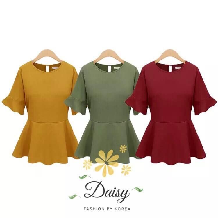 Daisy italy plain blouse