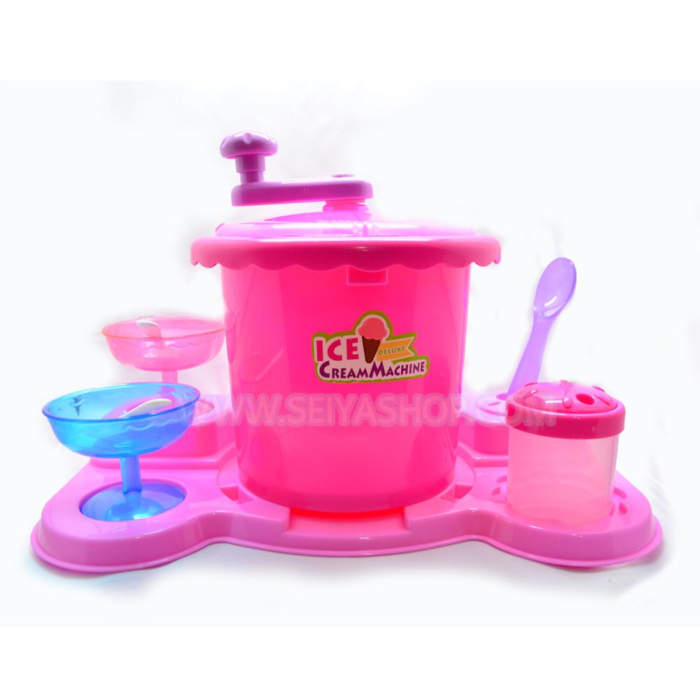 J014 เครื่องทำไอศรีม Ice cream maker (ทำได้จริง)