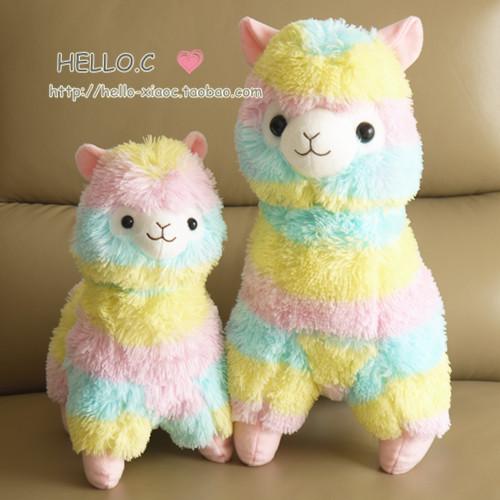 ตุ๊กตาอัลปาก้า Alpaca Alpacasso รุ่น Rainbow