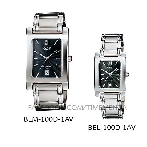 Casio BEM-100D-1AV+BEL-100D-1AV