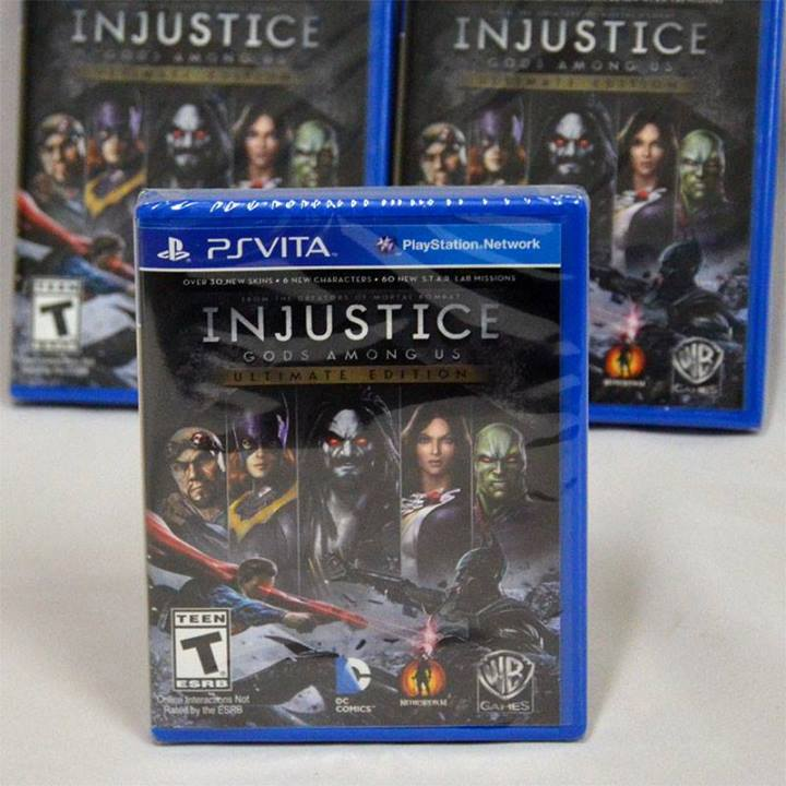 PSV Injustice: Gods Among Us - Ultimate Edition ( Z1)