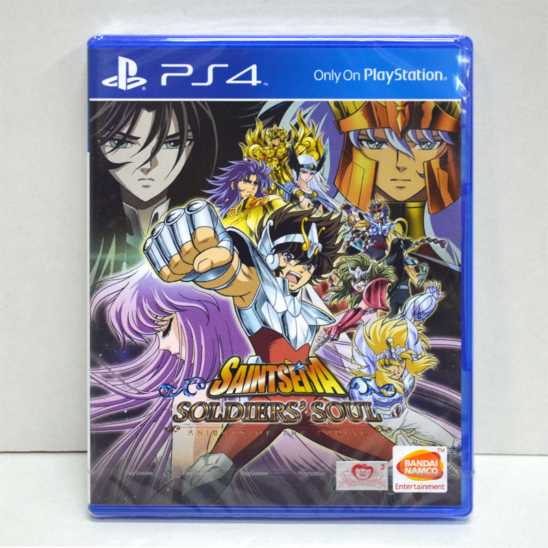 PS4 Saint Seiya: Soldiers' Souls zone2 eu Eng