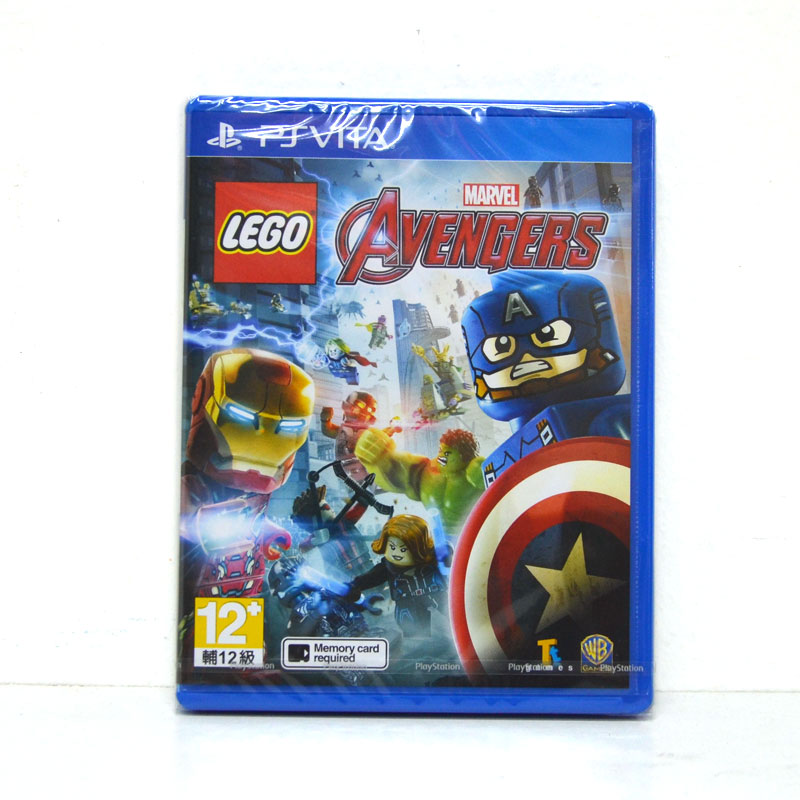 PS Vita LEGO Marvel's Avengers Zone 3 Asia / English Version