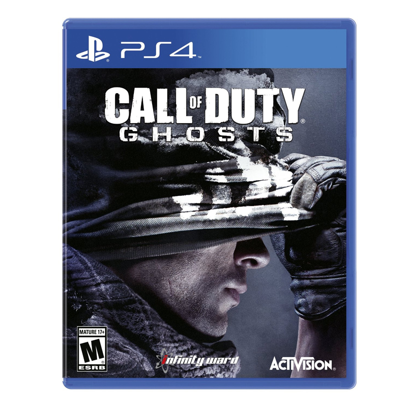 PS4 Call of Duty Ghosts Zone 1 US / zone 2 eu / English
