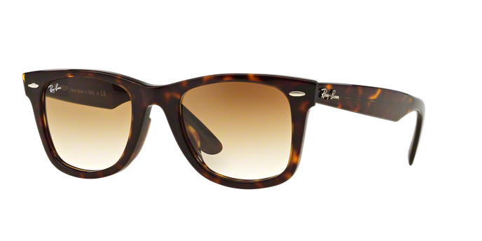 Ray Ban RB2140F 902/51 Wayfarer tortoise Brown Gradient