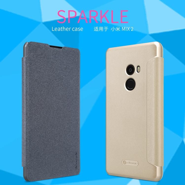 เคส Xiaomi Mi Mix 2 - Nillkin Sparkle Leather Case