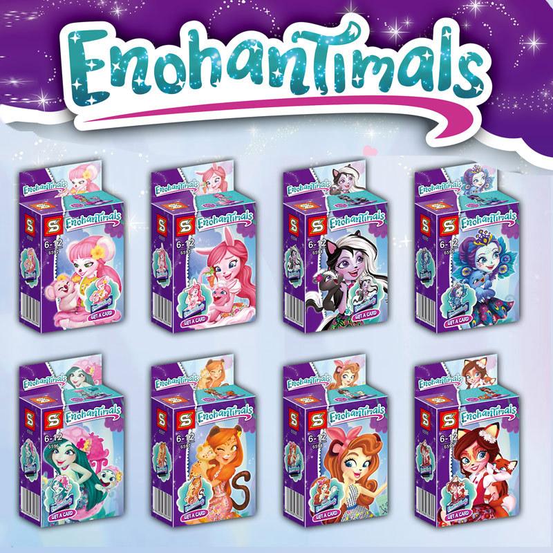 เลโก้จีน SY.6592-6599 ชุด Little Pony Equestria Girls