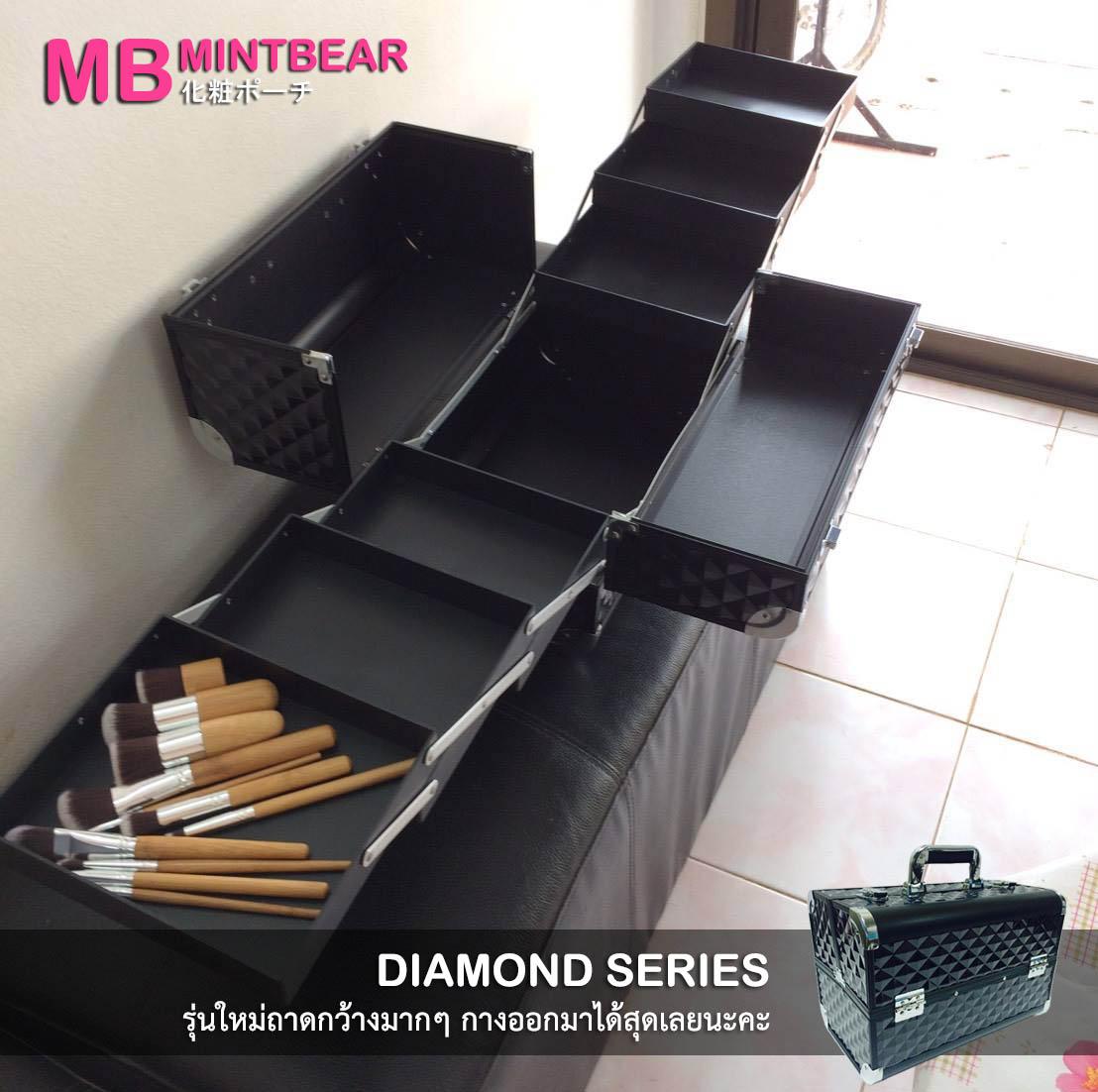 กระเป๋าเครื่องสำอางค์ Mintbear