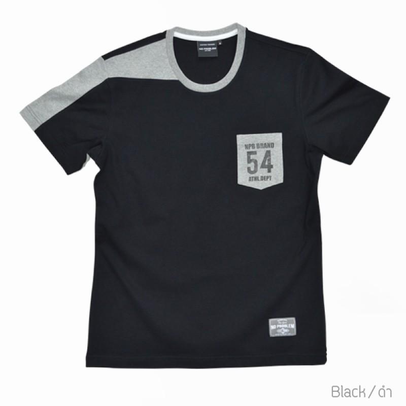 เสื้อยืด สำหรับ ผู้ชายอ้วน 2XL 3XL 4XL รหัส NR60019
