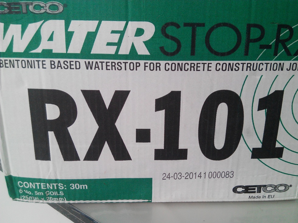 CETCO Waterstop RX101 (Made in EU) ขนาด 25 x 20 มม.(30 เมตร)