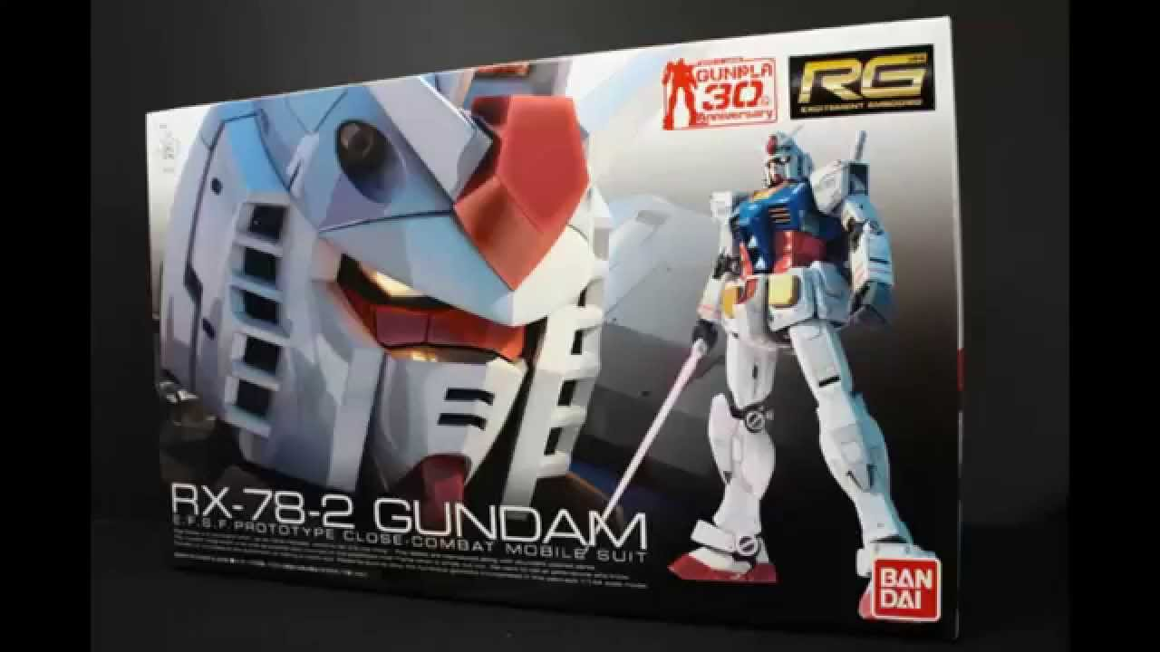 BANDAI RG 01 - RX-78-2 GUNDAM