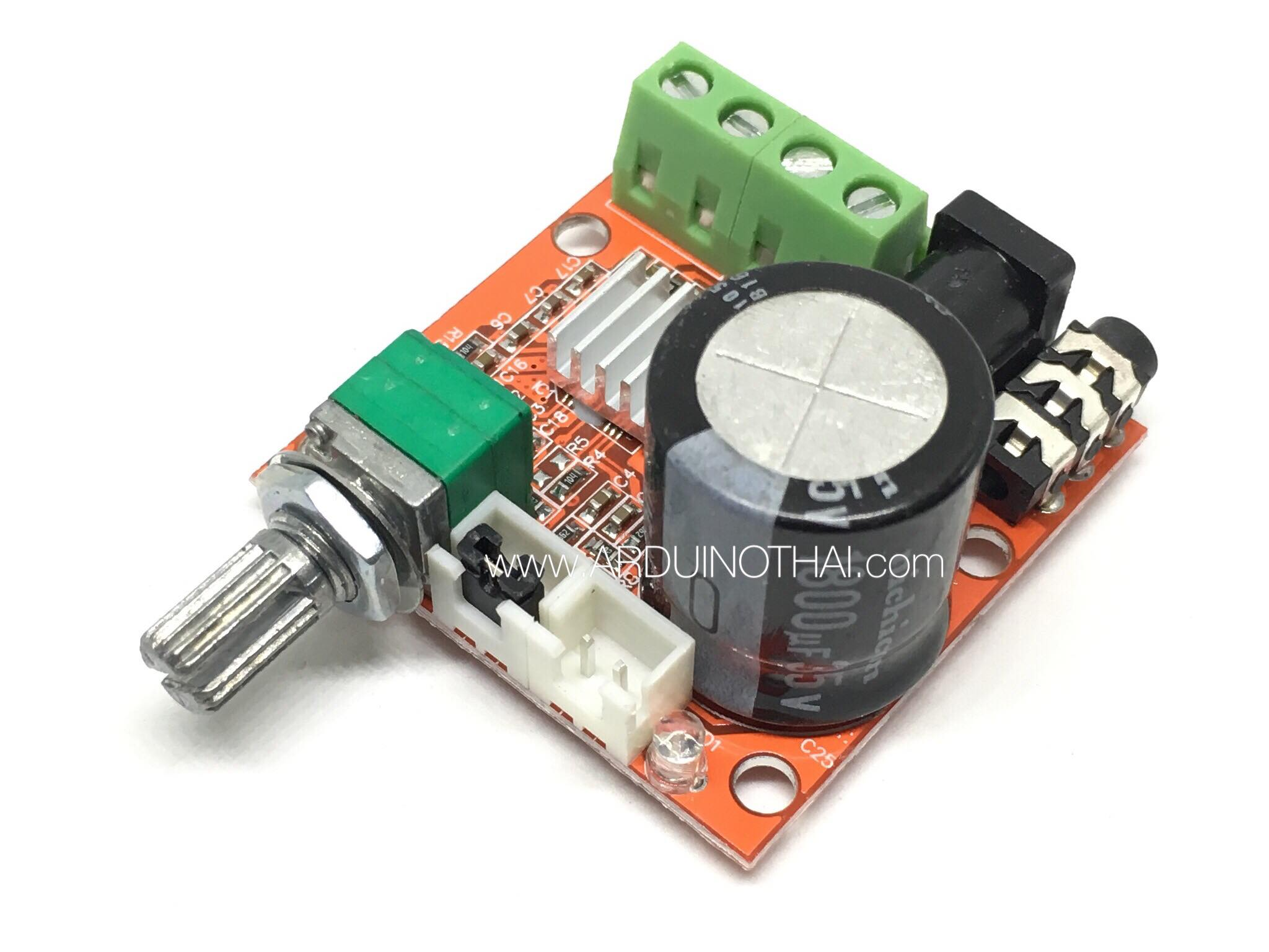 PAM8610 Mini Amplifier Board 12V 10W(TDA2030)