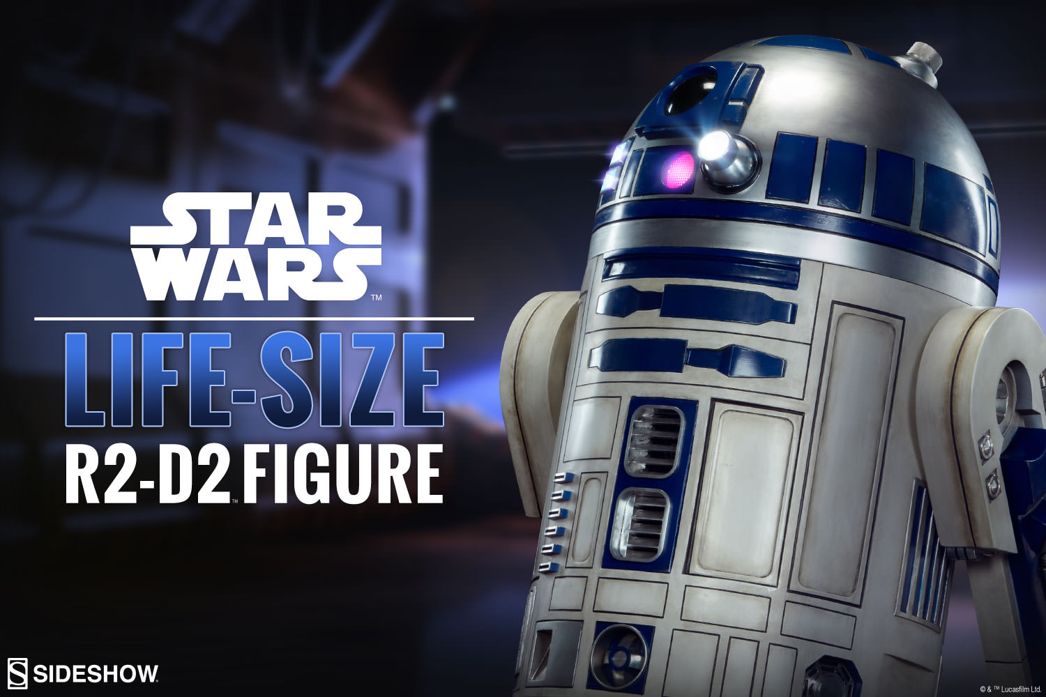 R2-D2 Life-Size Figure by Sideshow Collectibles