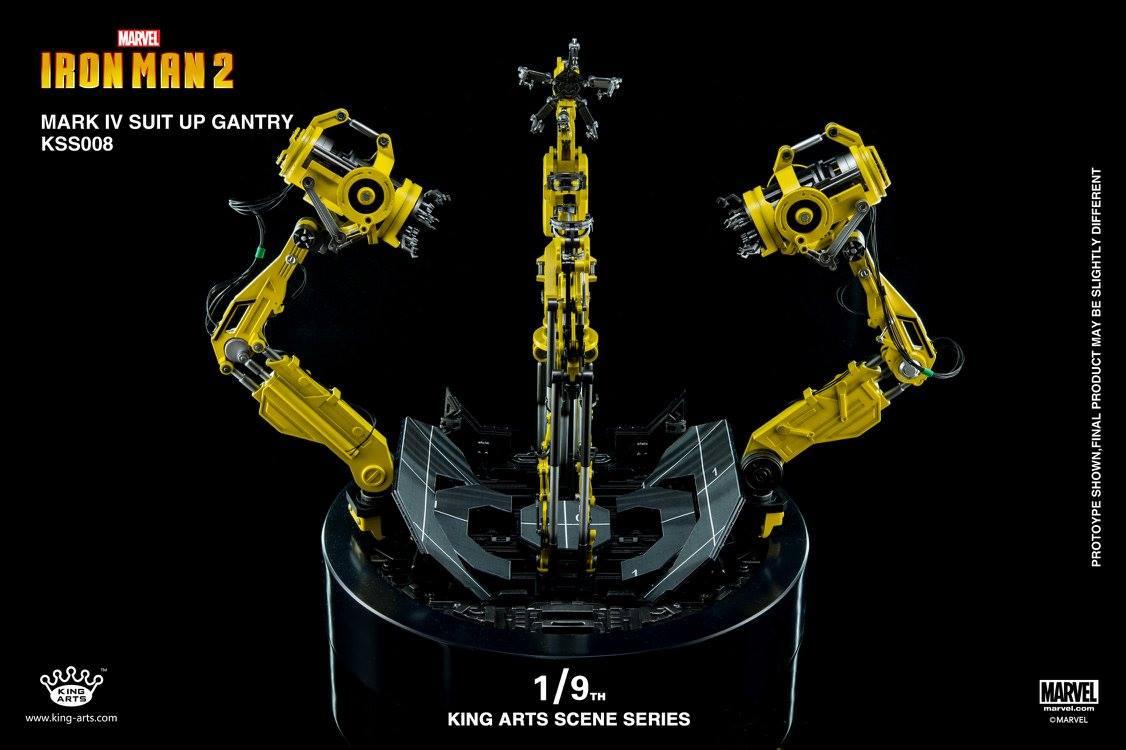 King Arts 1/9 Mark IV Rotating Gantry