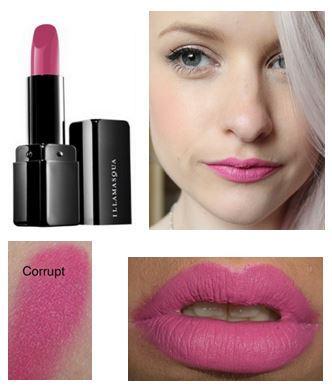 **พร้อมส่ง**ILLAMASQUA Lipstick ขนาดปกติ 4 g. # Corrupt สีชมพูอมม่วง คอลเลคชั่นใหม่จาก อีลลามาสก้า สินค้าแบรนด์ดังจากเกาะอังกฤษ ที่เพิ่งเข้ามาไทย ที่จะมาสร้างความสดใสและสีสันสำหรับเมคอัพของคุณ เนื้อแน่น สีชัด ติดทนมากค่ะ ,