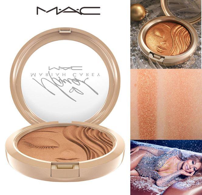 **ส่งฟรี EMS**MAC Mariah Carey Extra Dimension Skinfinish #My Mimi ไฮไลท์เนื้อครีมทูพาวเดอร์ Extra Dimension ให้พิกท์เม้นละเอียดประกายทองหลากมิติ เนื้อสัมผัสนุ่ม เกลี่ยง่าย เนื้อแป้งพิมลายสลักใบรูปหน้าแบบเฉพาะของ Mariah Carey ในแพคเกจจิ้งสีเงินประกายระยับ