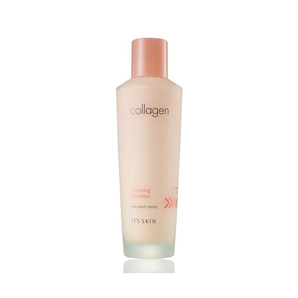**พร้อมส่ง**It's Skin Collagen Voluming Toner 150 ml. โลชั่นบำรุงผิวหน้าสูตรเข้มข้น เติมเต็มคอลลาเจนสู่ผิว ริ้วรอยตื้นขึ้น ผิวกระชับเรียบเนียน ผิวนุ่มชุ่มชื้น ให้ผิวคืนความยืดหยุ่นที่สูญเสียไป ลดเลือนริ้วรอย รักษาความชุ่มชื้นบนใบหน้า ผิวจะดูเรียบเน ,