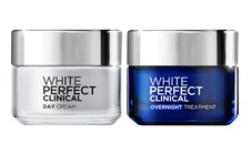 ลอรีอัล L'Oreal Paris White Perfect Clinical Day Cream 50 ml. + White Perfect Clinical Overnight Treatment 50 ml.