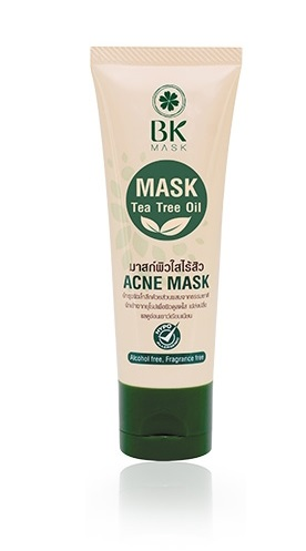 BK Mask Acne Mask Tea Tree Oil Green Tea 35 g