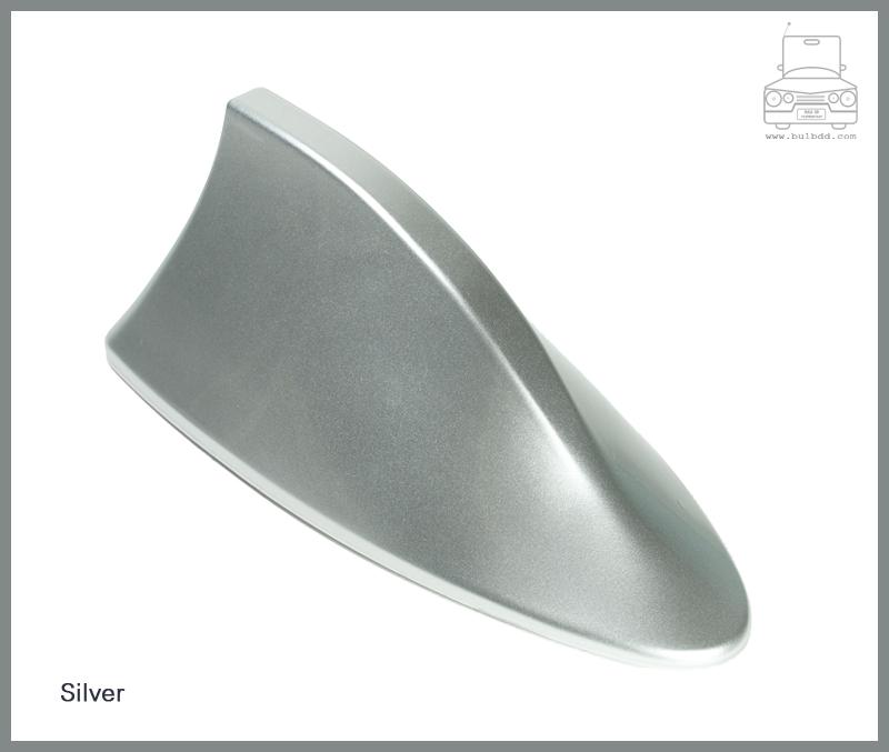 เสาวิทยุครีบฉลาม สีเงิน (Silver)